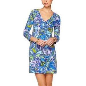 Lilly Pulitzer Christie V-Neck T-Shirt Dress Pima
